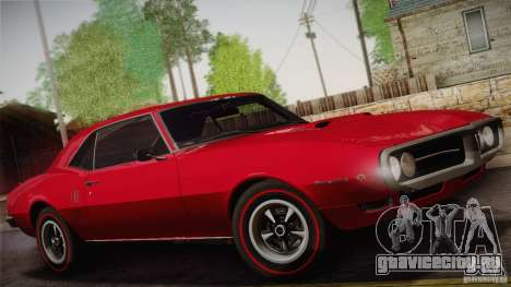 Pontiac Firebird 400 (2337) 1968 для GTA San Andreas колёса