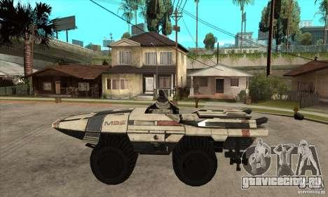 M35 Mako для GTA San Andreas вид слева