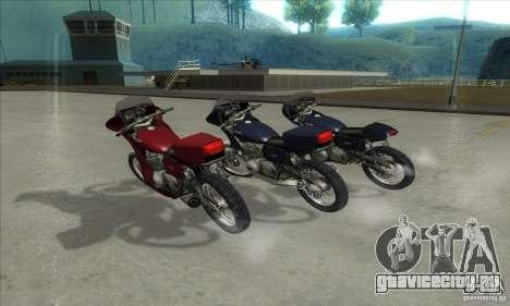 Kawasaki KZ1000 для GTA San Andreas вид слева