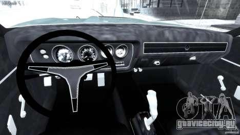 Dodge Charger RT 1971 v1.0 для GTA 4 вид справа