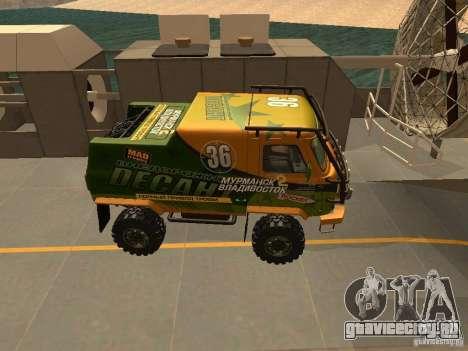 УАЗ 2206 Экспедиция для GTA San Andreas вид сзади