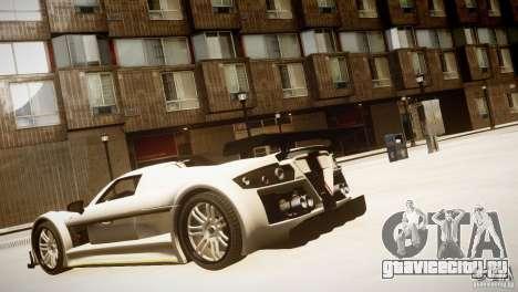 Gumpert Apollo Sport KCS Special Edition v1.1 для GTA 4 вид справа
