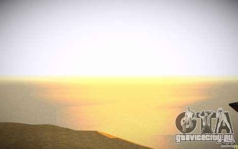 HD Вода v3.0 для GTA San Andreas одинадцатый скриншот