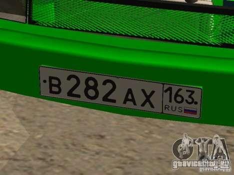 Москвич 2141 для GTA San Andreas вид сзади слева
