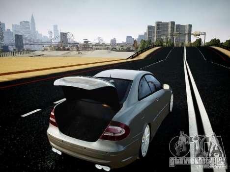 Mercedes-Benz CLK63 AMG Final для GTA 4 вид сзади