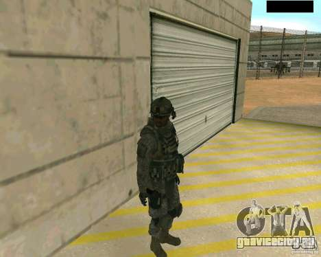 Скин солдата из CODMW 2 для GTA San Andreas второй скриншот