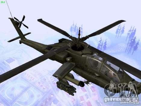 HD Hunter для GTA San Andreas вид сбоку
