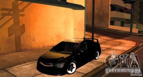 Honda Civic JDM для GTA San Andreas вид сзади