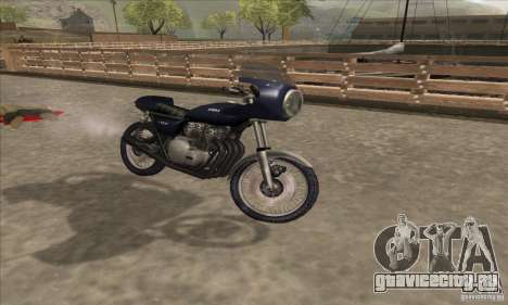 Kawasaki KZ1000 для GTA San Andreas вид справа