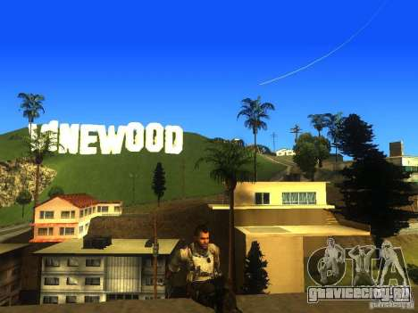Animation Mod для GTA San Andreas десятый скриншот