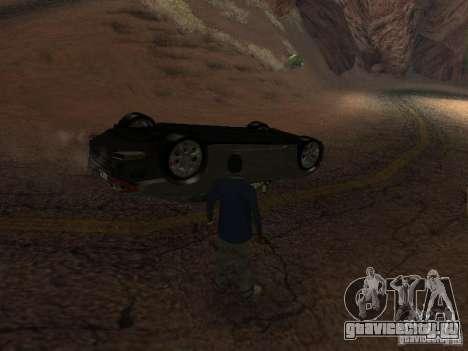 Перевернутые автомобили не горят для GTA San Andreas четвёртый скриншот