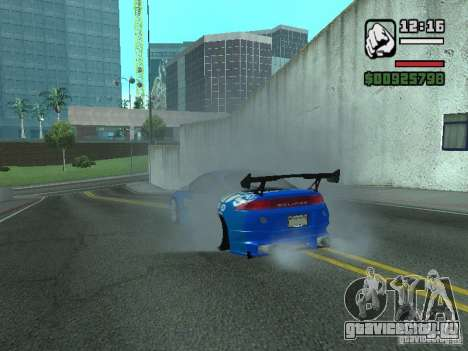Mitsubishi Eclipse Tunning для GTA San Andreas вид справа