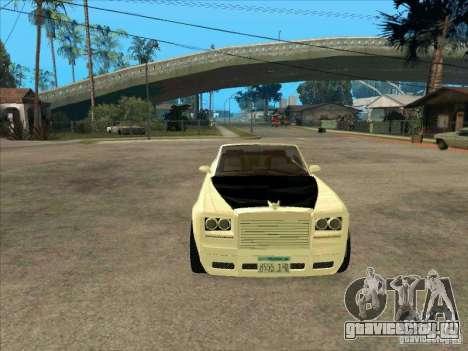 GTA 4 TBOGT Super Drop Diamond для GTA San Andreas вид сзади