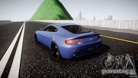 Aston Martin V8 Vantage V1.0 для GTA 4 вид сзади слева