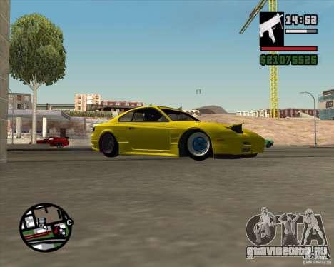 Nissan S330SX Japan SHK style для GTA San Andreas вид сбоку