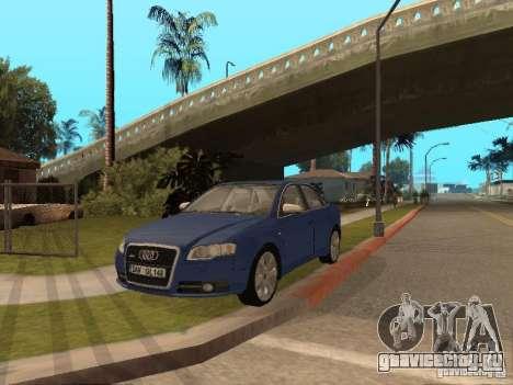 Audi S4 для GTA San Andreas вид сверху