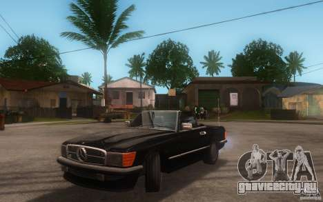 Mercedes-Benz 350 SL Roadster для GTA San Andreas