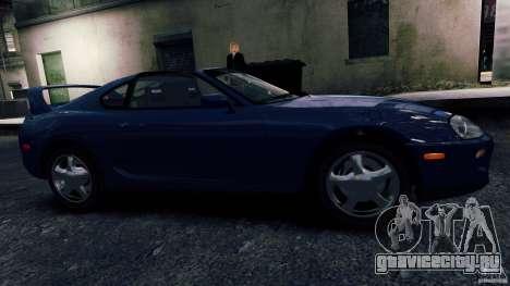Toyota Supra RZ 1998 для GTA 4 вид слева