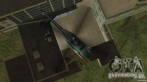 FBI Maverick для GTA Vice City вид сзади слева