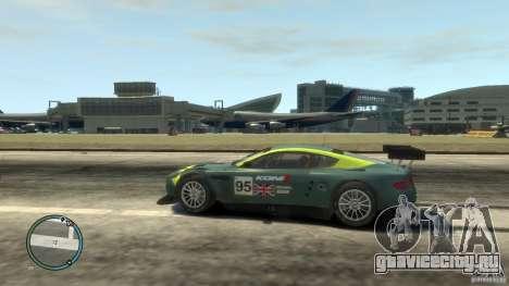 Aston Martin DBR9 для GTA 4 вид слева