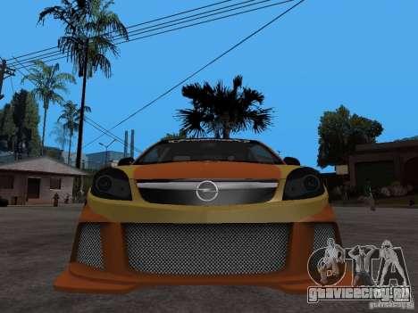 Opel Vectra для GTA San Andreas вид справа