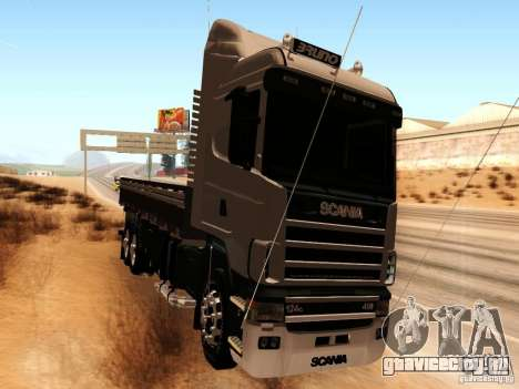 Scania 124G R400 для GTA San Andreas вид слева