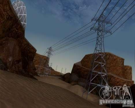HQ Country N2 Desert для GTA San Andreas пятый скриншот