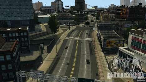 Пустой город для GTA 4 второй скриншот