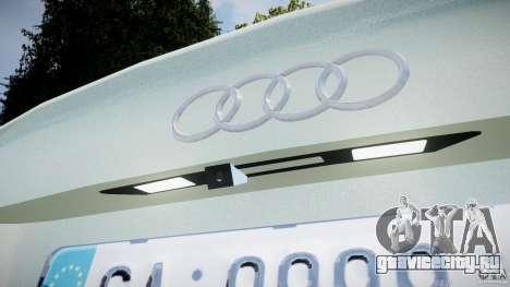Audi RS6 2010 для GTA 4 вид сбоку
