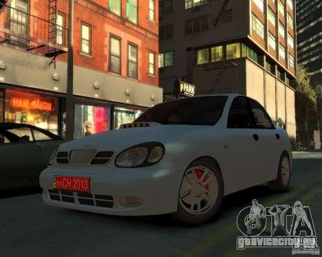 Daewoo Lanos для GTA 4
