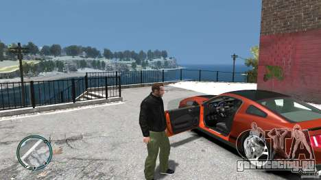 Ford Mustang Boss 302 2012 для GTA 4 вид изнутри