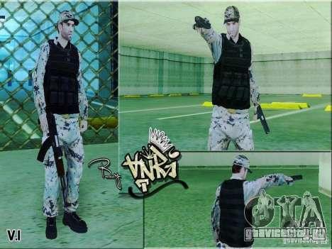 Army Soldier Skin для GTA San Andreas