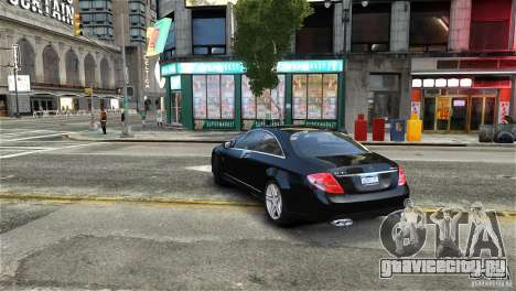 Mercedes-Benz CL65 AMG v1.5 для GTA 4 вид справа