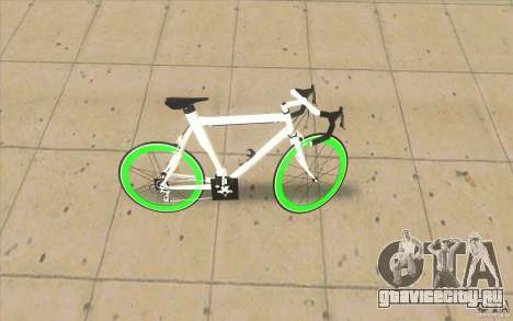 Fixie Bike для GTA San Andreas вид слева
