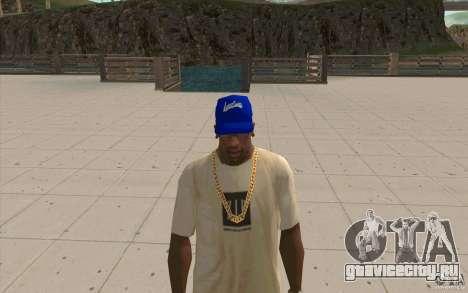 Кепка WCCB для GTA San Andreas второй скриншот