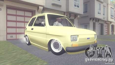 Fiat 126 для GTA San Andreas