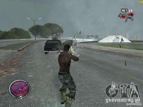 Новые ГАНГСТЕРСКИЕ зоны для GTA San Andreas второй скриншот
