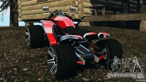 ATV PCJ Sport для GTA 4 вид сзади слева