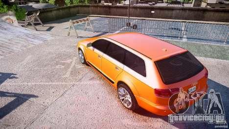 Audi A6 Allroad Quattro 2007 wheel 2 для GTA 4