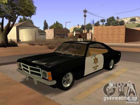 Chevrolet Opala Police для GTA San Andreas