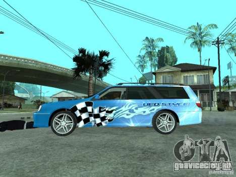 Nissan Stagea 25RS four S для GTA San Andreas вид слева