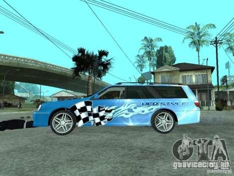 Nissan Stagea 25RS four S для GTA San Andreas вид слева