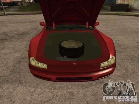 HD Cheetah для GTA San Andreas вид справа