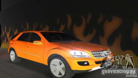 Mercedes-Benz ML 500 для GTA Vice City вид сзади слева
