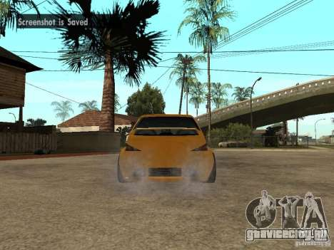 Peugeot 106 Tuning для GTA San Andreas вид слева