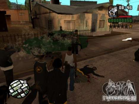 Call of Homies для GTA San Andreas