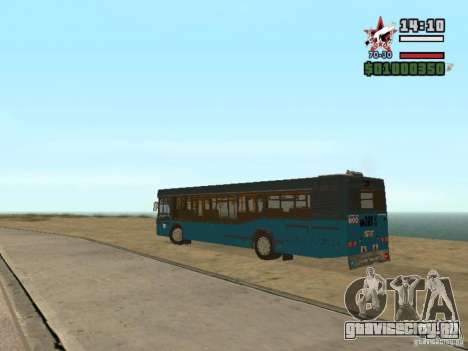 МАЗ-103С для GTA San Andreas вид сзади