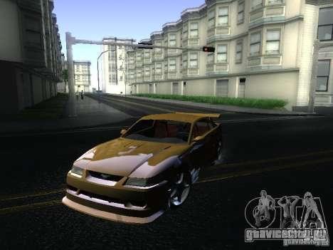 Ford Mustang SVT Cobra для GTA San Andreas вид слева