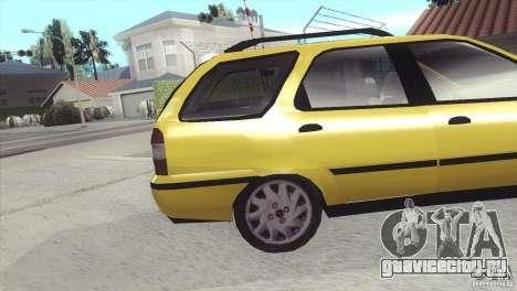 Fiat Palio Weekend 1997 для GTA San Andreas вид справа