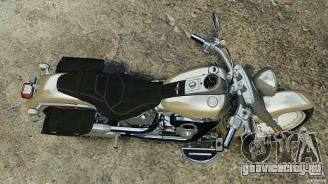 Harley Davidson Softail Fat Boy 2013 v1.0 для GTA 4 вид справа